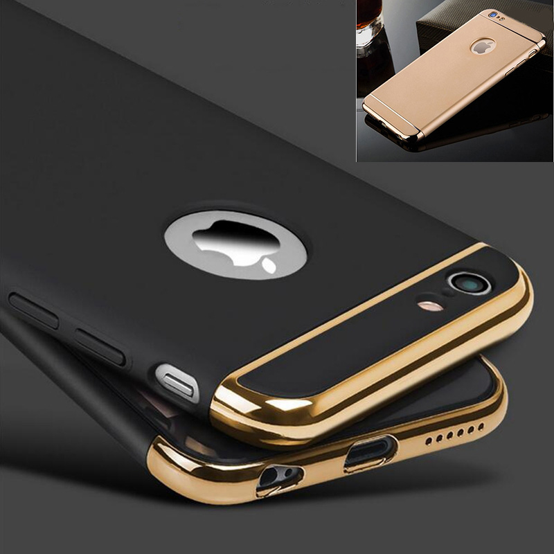 3in1 360 Degree Ultra-thin Hard Case For iphone 8 Case Full Protector Phone Cover For iphone 8