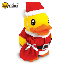 Christmas Cute Specific Duck Shape Clear Plastic Money Safe Box For Kids