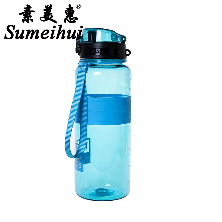 Cheap high quality BPA free 1000ml fashionable outdoor sport plastic water bottle