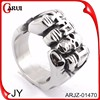 Sterling silver jewelry Turkish rings men's ring silver 925 skull ring for men
