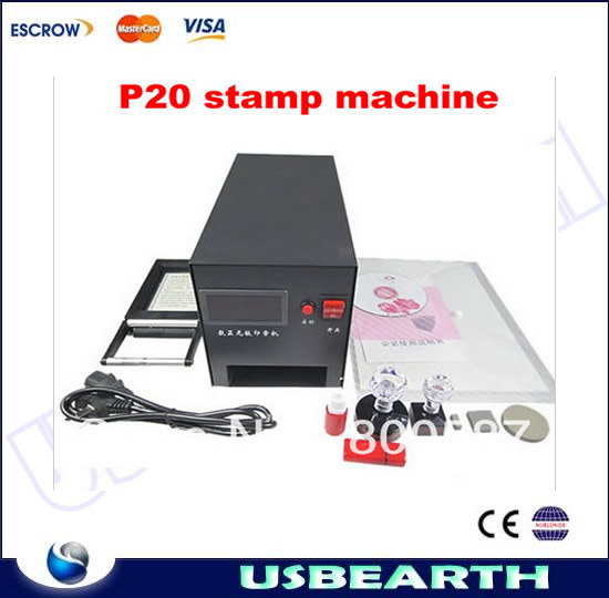 New released rubber stamp machine LY P20 Digital machine to make rubber stamp,PSM machine, rubber stamp machine for sale