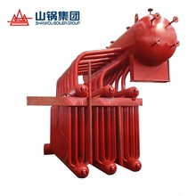 Exhaust gas or waste heat recovery boiler
