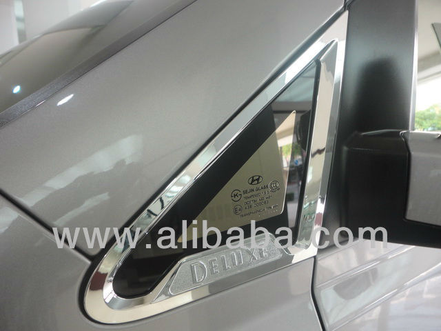HYUNDAI H-1 A-pillar chrome molding set (2pcs)
