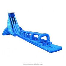 Giant wet dry inflatable water slide with pool for adult,inflatable bounce water slide good prices