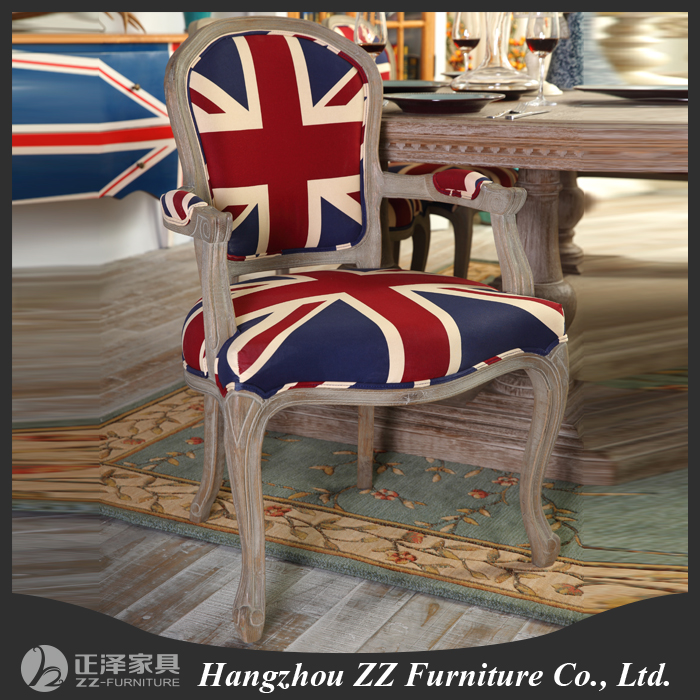 Country Style High End Furniture Restaurant Dining Chair And Table