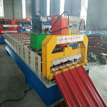 China metal roofing panel roll forming machine for sale