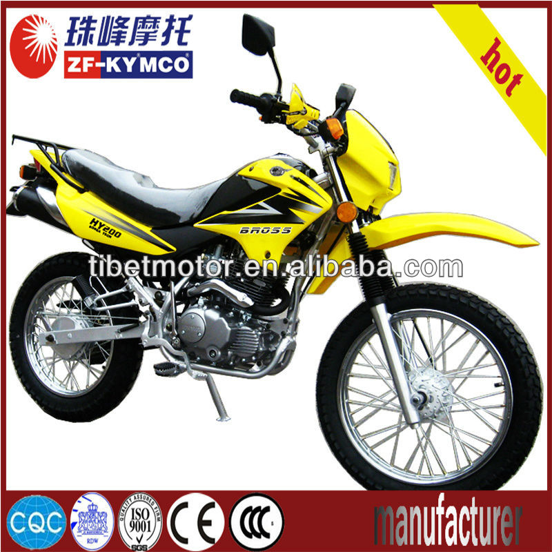 new china cheap 2 wheel motorcycle (ZF200GY)