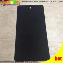 Black Smooth Super Matte Powder Coating