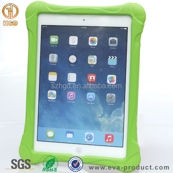 Alibaba trade assurance no-toxic EVA material for iPad air 2 waterproof case