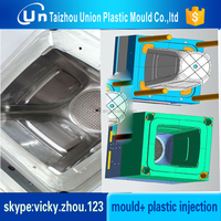 basket bin mould waste bin mould big dustbin plastic injection mould