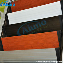 Timber Color Wooden Color Aluminium Blades Shutter Window Blades