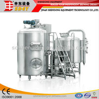 800l turnkey micro beer fermenter, high quality cheap beer brewing equipment