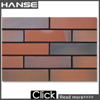 MPB-006 dry hanging system exterior wall terracotta tiles/facing brick price
