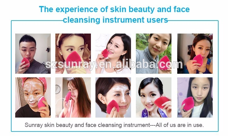 Natural Beauty Products Electric Sonic Face Cleaning Brush