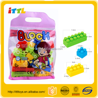 Top quality interlocking toy blocks connecting toys construction plastic building blocks toys