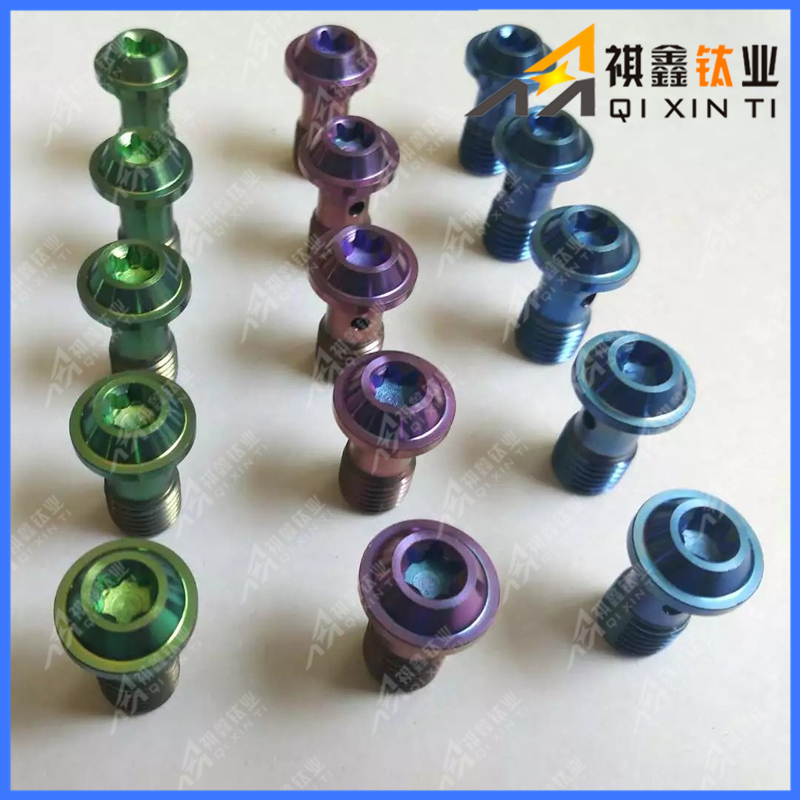 Gr5 Anodizing Titanium Bolt for Racing Motor Bike bicycle