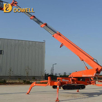 Factory Direct Sale Crawler Rough Terrain lift spider boom lift 28m