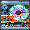 48 LEDs with 48 double-side colorful patterns Bicycle wheel light safety and super brightness
