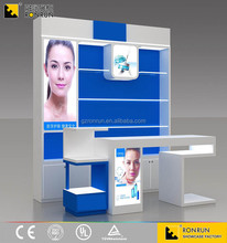 RCF1006 shopping mall make up cosmetic display stand for cosmetic shop