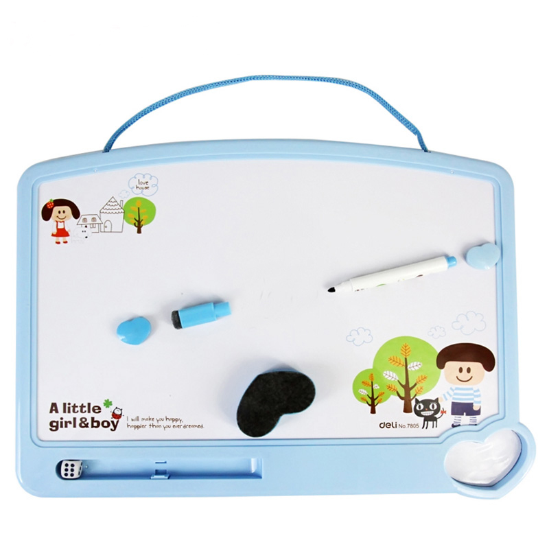 Children Small Magnetic Whiteboard For Writing Drawing School Supplies