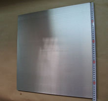 High-melting metal silver gray tungsten sheet