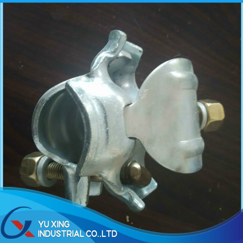 scaffolding pressed fixed scaffolding coupler / clamp