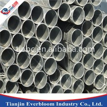 ASTM A53 schedule 40 galvanized steel pipe / galvanized pipe diameter