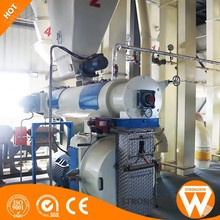 Henan Strongwin automatic biomass wood pellet mill