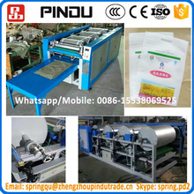 Mini hot sale four color digital germany fabric bag offset screen printing press machine price