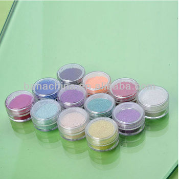 Colourful Nail Art Decoration accessory.Size: 0.6-0.8mm.caviar nails