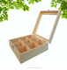Wooden moon cake packing box, wooden gift box