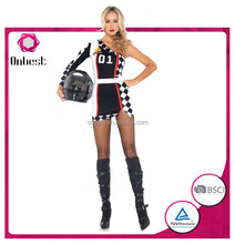 hot sale fancy adults uniform costume sexy for cosplay girl women Carnival Halloween career costume