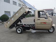 tipper cargo tricycle with cabin