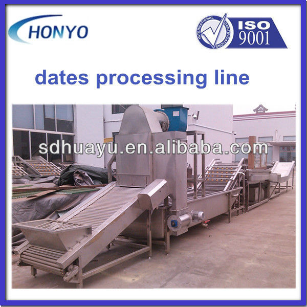 jujube production line/date processing line for high capacity
