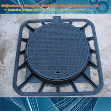 manhole cover en124 d400/manhole cover iron casting/tank truck manhole cover made in china