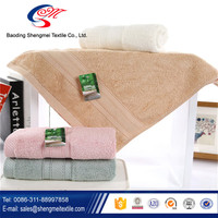 Luxury Bamboo Fiber Bath/Face Towel with Embroidery