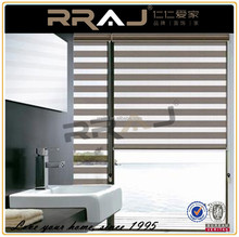 Automatic Transparent Outdoor Roman Blinds/ Zebra Blinds System