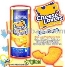 CHEESE LOVERS Baked Cheese Flavoured snack