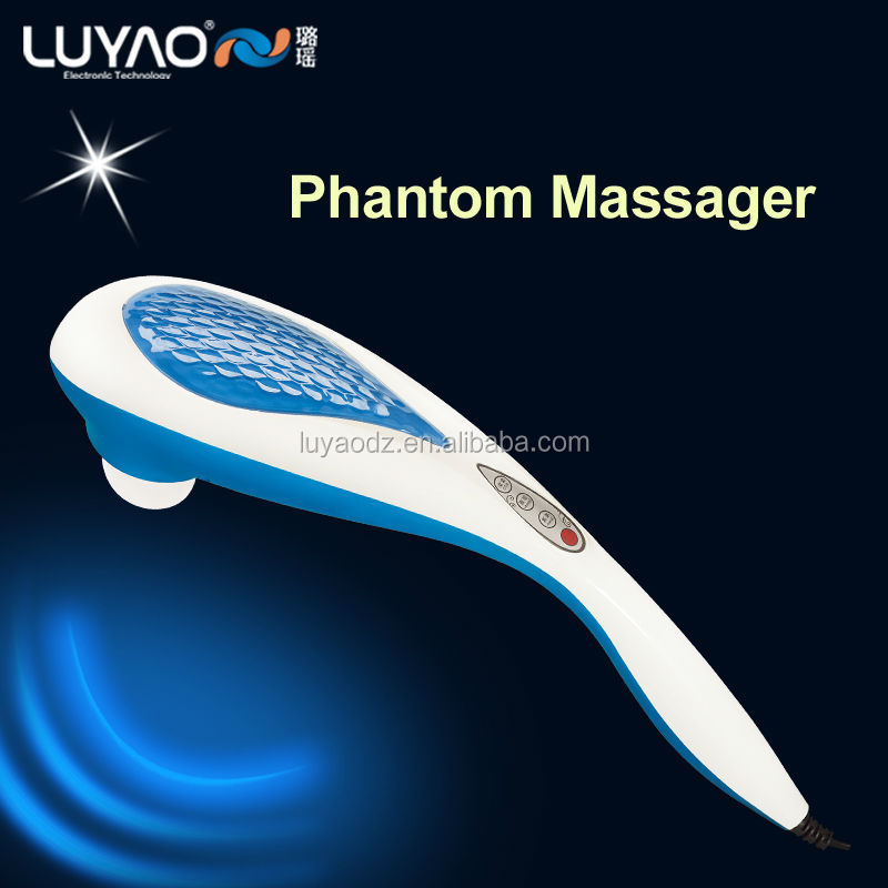 useful popular hand held infrared heat vibrating massager LY-629