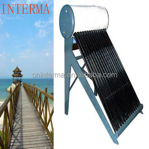 solar water heater solar hot water working principle of solar water heater