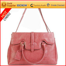2012 stylish attractive good quality pu leather sling bags for lady