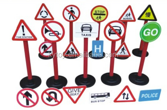2017 Kids traffic sign for kindergarten,educational toys