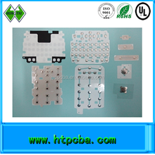Silicon rubber keypad and keyboard / PCB membrane switch