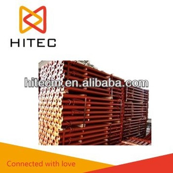 With Mill Certificate Qingdao, China Red Shoring Prop