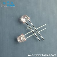 5mm Amber Straw Hat 0.5w Led Diode
