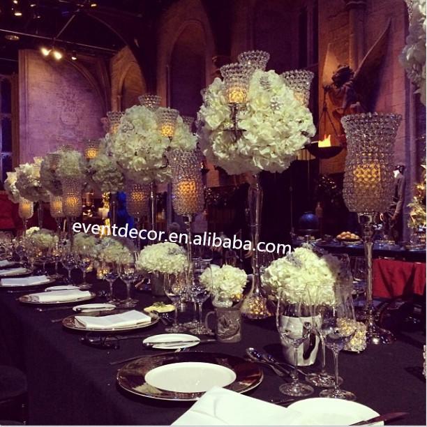Fabulous arms candelabra wedding centerpiece for table