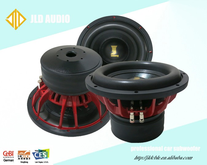 Made In China ST10 1200W RMS Power car subwoofer 10 inch subwoofer