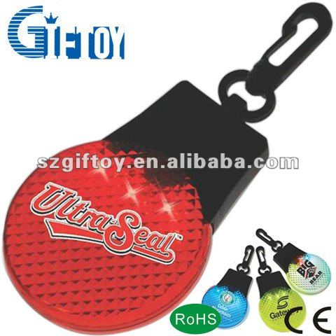 portable warning lights, mini cartoon warning lights, safety reflectors and a high degree of refraction LED Keycha