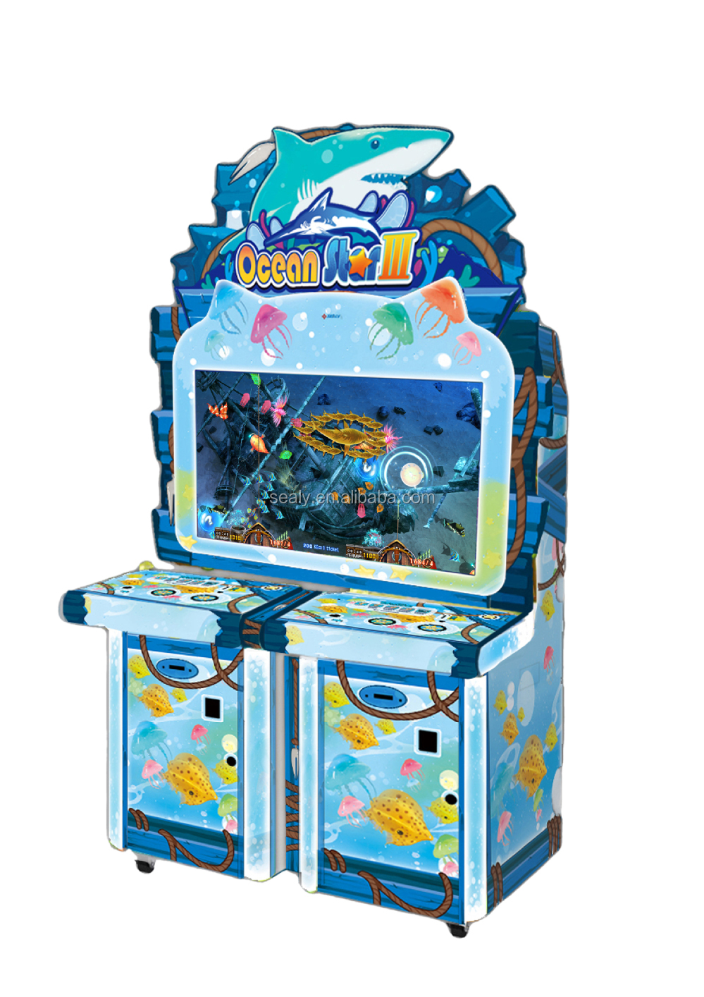 2 MONTH EARN COST!!! Gaming Slot Ocean King 2 Fishing Game Machine sale Fishing fork master
