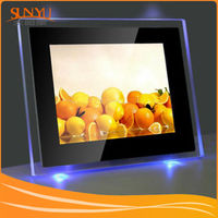 Wholesale High Transparent poly acrylic antique photo frame